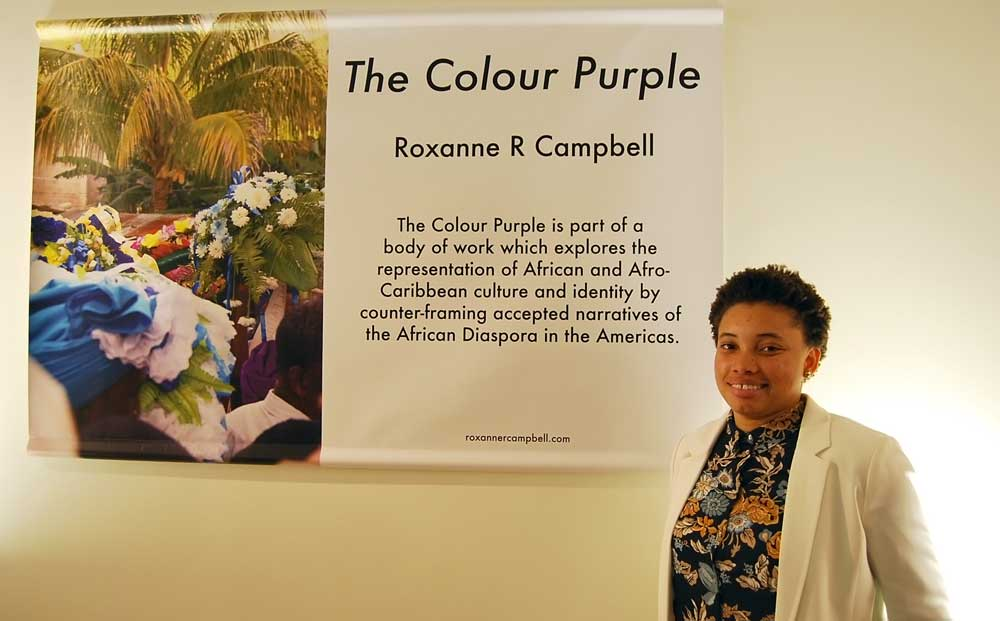 Roxanne Campbell and her final project