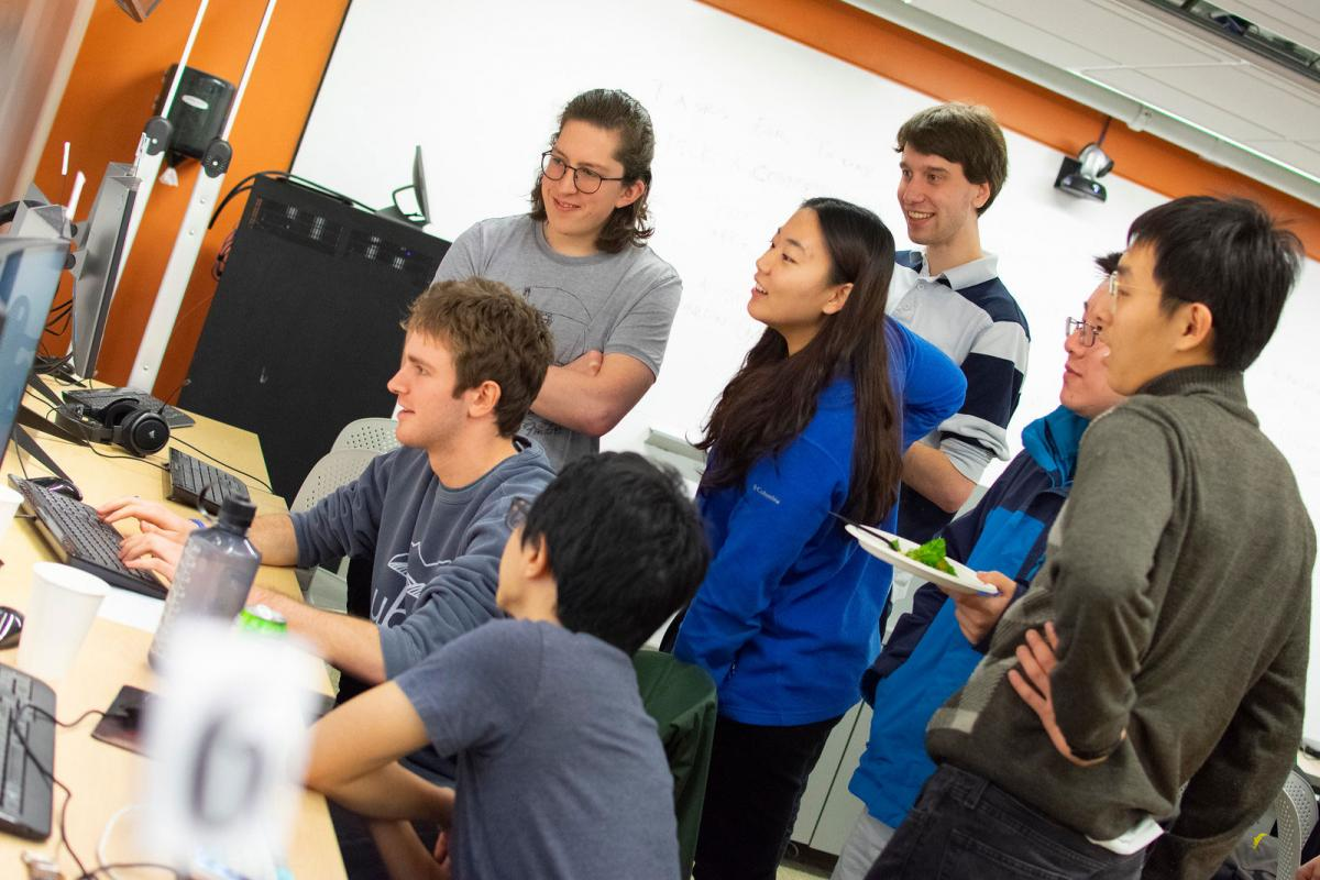 Some of Duke's Global Game Jam participants