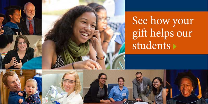 How Your Gift Helps Students