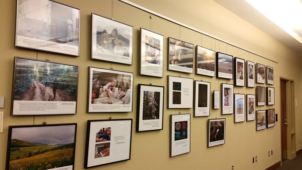 Photo contest exhibition