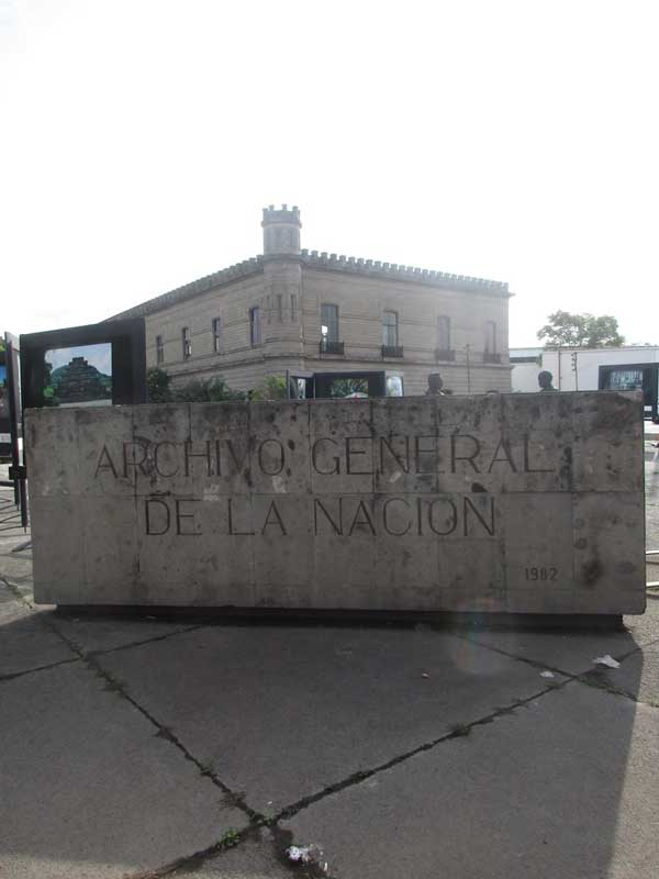 Photo: National Archive in Mexico City.