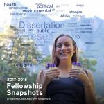 2017 fellowship snapshots