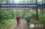 Summer Research Snapshots 2019